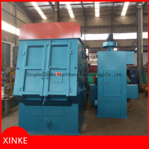 Automatic Tumble Belt Type Shot Blasting Machine for Cleaning Various Springs and Bolts pictures & photos
