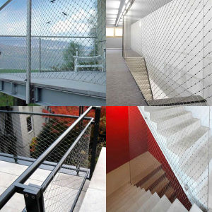 Stainless Steel Balustrade Rope Mesh pictures & photos