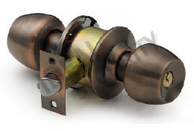 Cylindrical Tubular Knob Door Lock (WS578AC-ET) pictures & photos