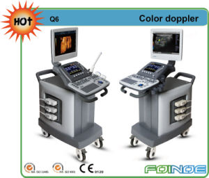 Q6 CE and FDA Approved Full Digital Color Doppler Ultrasound Equipment pictures & photos