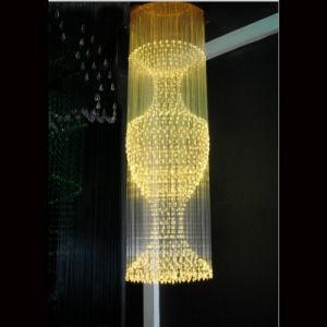 LED Bottle Shape Fiber Optical Light for Hotel Project Lighting pictures & photos
