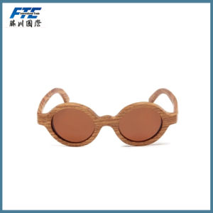 Wooden Frame Sunglasses Custom Eyewear with UR Logo pictures & photos