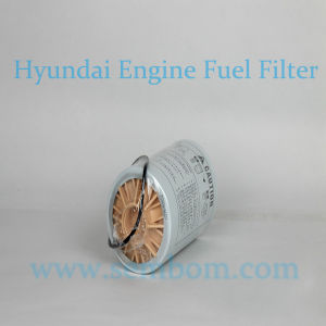 High Performance Engine Fuel Filter for Hyundai Excavator/Loader/Bulldozer pictures & photos