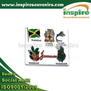 Cooperate Gift Jamaica Rubber Fridge Magnet pictures & photos