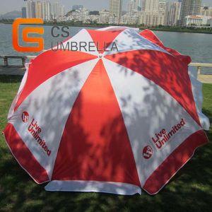 Wind Resist 8 Panels Advertising Beach Umbrella (YSBEA0002)
