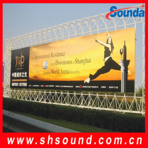 PVC Coated Frontlit Glossy Flex Banner (SFC550) pictures & photos
