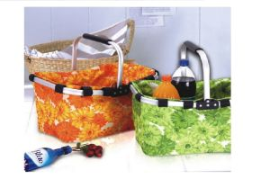 Fashion Printing Pattern Foldable Shopping Basket pictures & photos