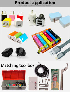 Plastic Cylinder Boxes Ultrasonic Welding Machine pictures & photos