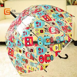 "23""*8k Heat Trandfer Print Poe Straight Umbrella (YS-T1007A) pictures & photos"