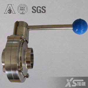 38.1mm Stainless Steel Ss304 Sanitary Hygienic Butterfly Valve pictures & photos