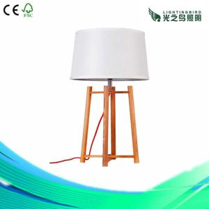 Lightingbird Classic Creation Hotel Wood Table Lamp (LBMT-DT)
