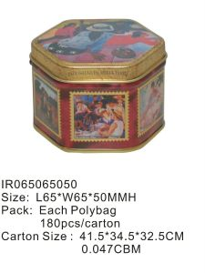 Chocolate Tin Box pictures & photos