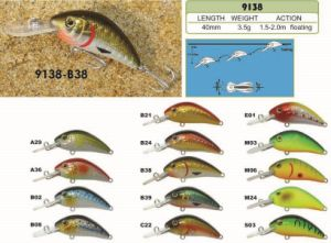 40mm Floating Bait a Top Factory′s Cheap Price --- High Quality Made Custom Hard Plastic Fishing Crankbait - Wobbler - Minnow- Popper Fishing Lure pictures & photos