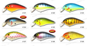 Fishing Lure, Fishing Tackle, Bass Baits--Balsa Wood Crank Bait (HYT-002) pictures & photos