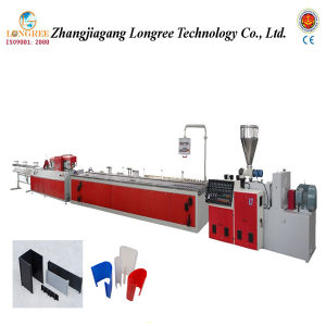 PVC Profile Extruder, PVC Panel Production Line, PVC Skirting Extrusion Line pictures & photos