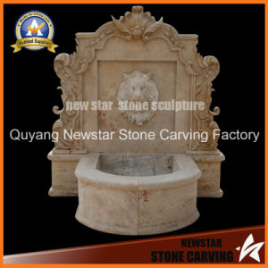 Stone Carving Weater Feature Wall Fountain Garden Decoration Wall Fountain pictures & photos