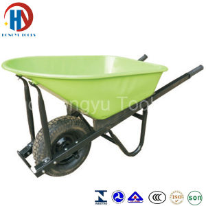 Wb-7804 Heavy Duty Square Handle Wheel Barrow pictures & photos
