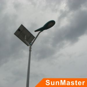 6m High Pole 25W Integrated Solar LED Street Light with All Accessories pictures & photos