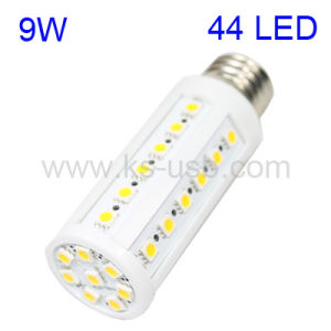 9W Warm White 44 LED Corn Light Bulb, Base Type: E27 (KLED-5018)