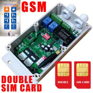 Double SIM Card GSM Controller for Garage Door pictures & photos