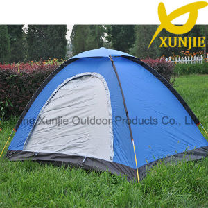 Hiking Fiberglass Pole Outdoor Tent pictures & photos
