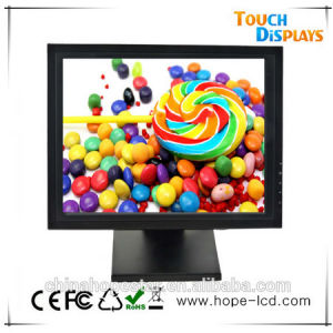 VGA 4: 3 Square Screen Cheap 15 Inch LCD Monitor Price pictures & photos