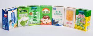 Fruit Juice Brick-Shape Paper Box pictures & photos
