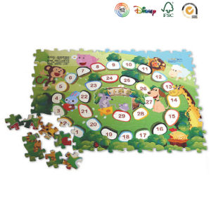 Number Park Paperboard Toying Jigsaw pictures & photos