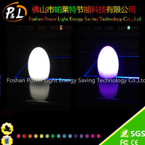 Fashion Glowing RGB LED Colorful Egg Lamp pictures & photos