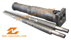 Conical Twin Screw Barrel Kmd55 Screw Barrel Cm55 Cm80 pictures & photos