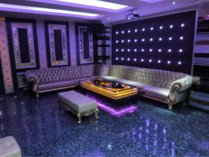 Nightclub Furniture Fabric Corner Sofa for Sale (KTV151) pictures & photos