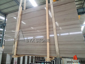 White / Black / Wood Marble Stone Slabs and Flooring Tiles pictures & photos