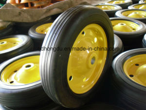 "High Quality 13""X3"" Solid Rubber Wheel pictures & photos"