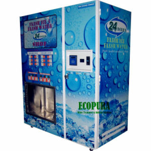 Ice and Water Combo Vending Machine pictures & photos