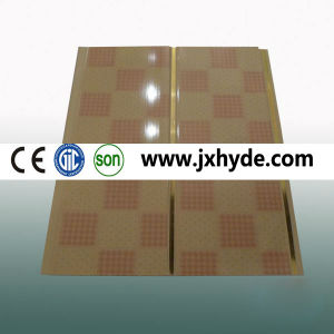 Wooden Hot Stamping PVC Ceiling and Wall Panel (RN-104) pictures & photos