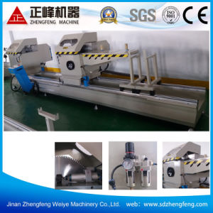 CNC Double Head Miter Aluminum Cutting Saw Machine /Aluminum Window Door Processing Machine  pictures & photos