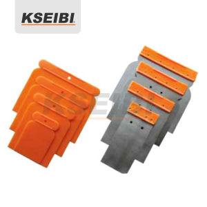 Colorful Drywall Full Kseibi Plastic/Steel Scraper Set 4-PC pictures & photos