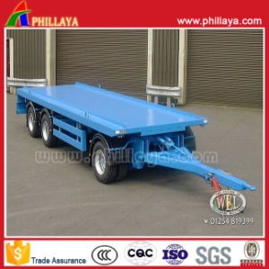 Front Drawbar Full Trailer Container Trailer pictures & photos