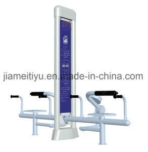 Galaxy Double Stands Outdoor Park Fitness Equipment Waist & Abdomen Trainer pictures & photos