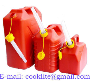 Plastic Petrol Diesel Jerry Can Polyethylene Gas Fuel Can pictures & photos
