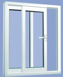 Simple and Popular Design UPVC Slidding Window
