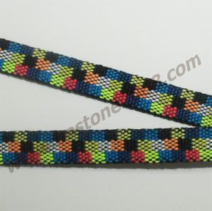High Quality Polyester Jacquard Webbing for Lanyard#1412-31A pictures & photos