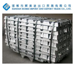 High Purity Grade a Internation Standard Zinc Ingot 99.995% with Factory Competitive Price pictures & photos
