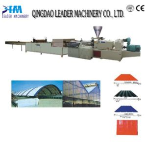 PVC PP Corrugated Sheet Extrusion Line pictures & photos