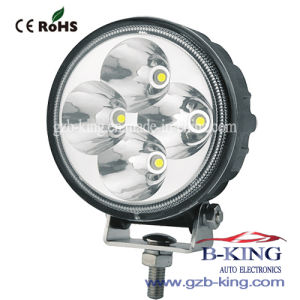 IP67 12W Round LED Work Light pictures & photos