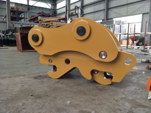 20tons Excavator Double Safe Pin Quick Hitch Made in Shenfu pictures & photos