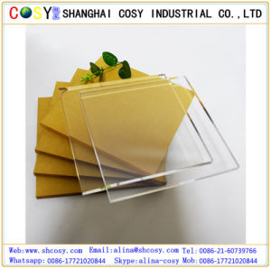 Decorative Panel Plastic Sheet 1.2g/cm3 High Quality Cast Acrylic Sheet for Tanning Bed pictures & photos