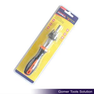 7PCS Ratchet Screwdriver for Tools (T02348) pictures & photos