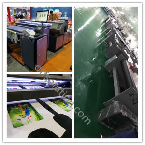 Long Flatbed Printer with Textile Ink Printing pictures & photos