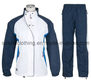 Custom Made Polyester Track Suit for Men (ELTSJJ-130) pictures & photos